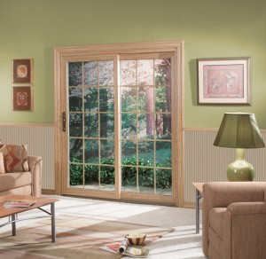 Sunrise sliding glass doors