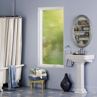 bathroom obscured frosted glass casement window white