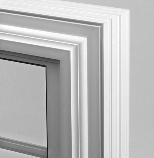 double countoured narrowline frame trim
