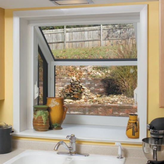 Versatile Garden window - interior large