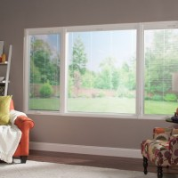 sliding window living room blinds
