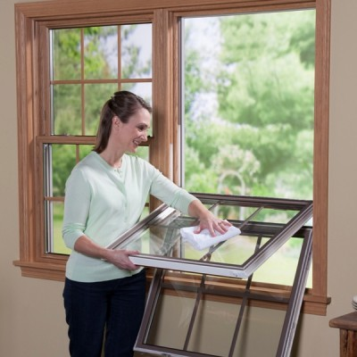 sunrise windows double hung window easy cleaning