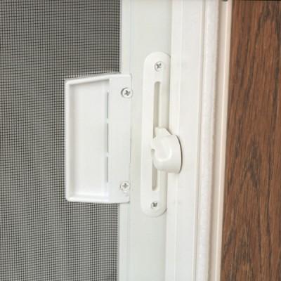 White screen locking mechanism