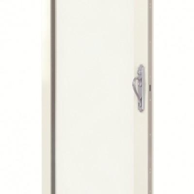 White sliding door panel