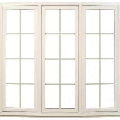 Bow Window tan outside view