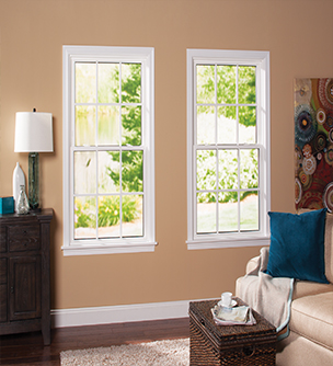 Double Hung Window - Interior View