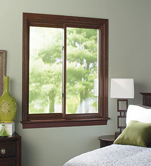 An example of a tilt-in sliding window.