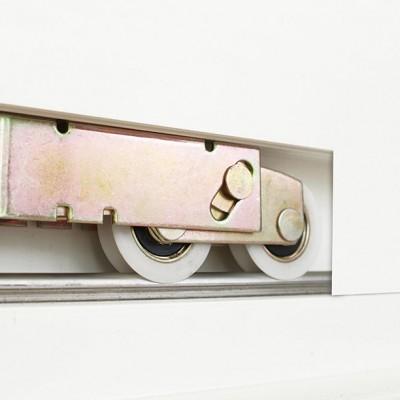 essentials sliding door wheel track