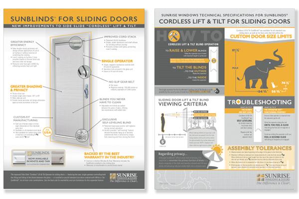 New SunBlinds literature available on the Sunrise eStore