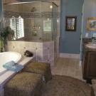 luxury bath room designer model home interior