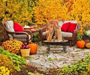fall patio
