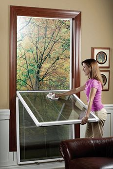 Cleaning Double Hung