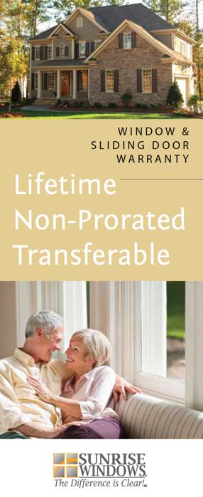 best replacement window warranty