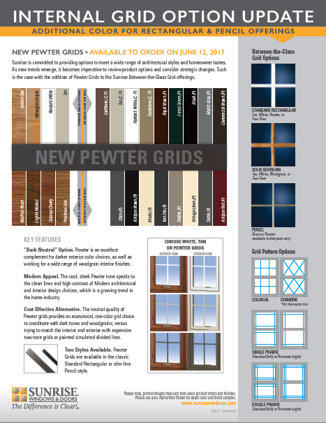 Pewter Grid Announcement